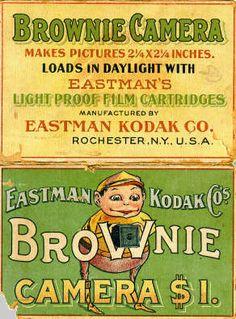 vintage brownie ad -