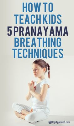 Yoga Poses : How to Teach Kids 5 Pranayama Breathing Techniques Pranayama, Yoga For Kids, Exercise For Kids, Kids Workout, Exercise Routines, Health Exercise, Exercise Motivation, Workout Plans, Yoga Fitness