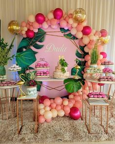 Birthday Room Decorations, Summer Party Decorations, Wild One Birthday Party, Luau Birthday, Flamingo Birthday, Flamingo Party, Flamingo Pool, Summer Pool Party, Luau Party