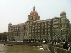 Taj Mahal Palace exterior, Mumbai