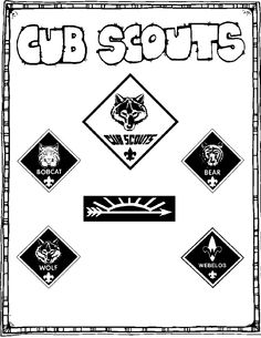 Cub Scout Booklet - Awesome for new scouts
