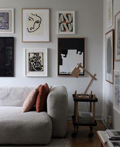 The Lovely Home of Swedish Stylist Elin Odnegard