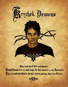 "Book of Shadows: ""Krycheck Demons,"" by Charmed-BOS, at deviantART. Charmed Spells, Charmed Book Of Shadows, Magick Spells, Wicca Witchcraft, Wiccan, Charmed Tv Show, Halloween Books, Halloween Spells, Magical Creatures"