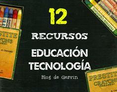 12 Recursos sobre Educación y Tecnología desde el Blog de Gesvin 5 Blogs con recursos de logopedia El aprendizaje basado en proyectos revoluciona la clase de Historia 6 Interesantes artículos de in...