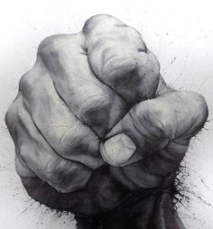 hand-drawn hand drawing by Paolo Troilo on