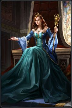 The Arthurian Legend - Queen Guinevere Fantasy Girl, Fantasy Queen, Fantasy Princess, Fantasy Love, Fantasy Images, Fantasy Inspiration, Character Inspiration, Character Portraits, Character Art