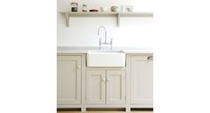 taupe shaker style kitchen cabinets