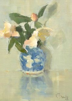 ❀ Blooming Brushwork ❀ - garden and still life flower paintings - Nancy Franke