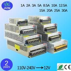 الصمام محول إمدادات الطاقة بقيادة قطاع أضواء ac/dc 110 فولت-220 فولت إلى 5 فولت 12 فولت 24 فولت 1a/2a/3a/5a/8a/10a/12a/15a/20a/25/30a التبديل