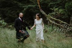 A relaxed, informal, fun and rustic style wedding at Coo Cathedral in the Scottish Highlands.  Images by Kitchener Photography