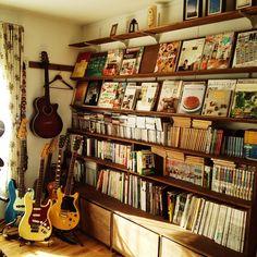 ギター部屋/楽器のある部屋/模型/男前/ブログやってます/手作り…などのインテリア実例 - 2014-12-10 10:19:18 | RoomClip(ルームクリップ)