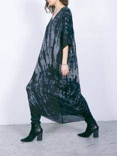 raquel allegra #fashion #tiedye #maxidress