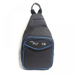 SONY PlayStation Travel Shoulder Bag I www. Ps4, Playstation, Xbox, Virtual Games, Painting Accessories, Bead Storage, Gaming Accessories, Fashion Backpack, Sony