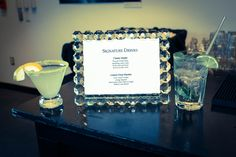 uDream Events   Classy Signature Drink Frames   Delicious Signature Drinks