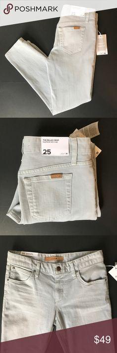 """Joe's """"The Billie Crop"""" Boyfriend Slim Crop Denim NWT excellent condition!  Waist: 15 inches Rise: 9 inches Inseam: 26 inches  Item: P-50-458 Joe's Jeans Jeans Boyfriend"""