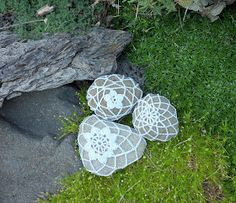 Who could resist a crocheted rock? from Make the Best of Things blog.