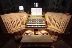 Nouvelle console des grandes orgues de Notre-Dame | by Jean Lemoine