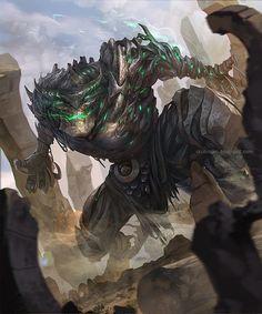 Majouju demon by crutz.deviantart.com on @DeviantArt
