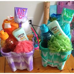 Beach gifts for Ali and Lisa
