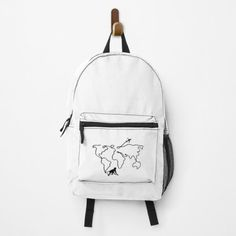 Clecio, MONKEY Backpacks   Redbubble Super Furry Animals, Black And White Backpacks, Sugar Skull Cat, Cute Alpaca, Buy Puppies, Shops, Cute Elephant, Black And White Drawing, Designer Backpacks