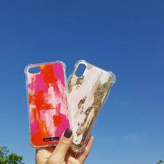 Eso que tanto estás buscando te está buscando a ti también💓 Fundas para celular pintadas ¡a mano!