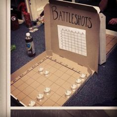 Had someone come up with this while I was still in college, I just might have actually played. Dangerousssss.
