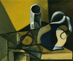 "Pablo Picasso - ""Still Life with Jug and glass [Glass and pitcher]"", 1943"