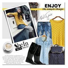Shein 1 by barbarela11 on Polyvore featuring polyvore, fashion, style, Armani Jeans, Vera Bradley, Sheinside and shein