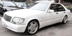 W140 AMG White. Check out for more on: http://dailybulletsblog.com/mercedes-benz-w140-compilation-part-i/ #MercedesBenz #W140 #Cars