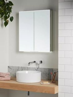 aspect double mirrored and illuminated bathroom cabinet john lewis, affiliate partner Illuminated Bathroom Cabinets, Flat Marbles, Double Sided Mirror, Basin Vanity Unit, Behind The Glass, Glass And Aluminium, Retro Bathrooms, Bath Or Shower, Mirror Cabinets