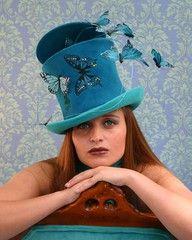 wonderful butterfly hat