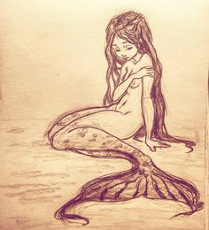 Wish i could be part of your world #art #draw #drawing #illustration #concept #conceptart #sketch #sketchbook #doodle #cartoon #character #design #mermaid #girl #metamorphosis #transformation #legs #mermaidtail #disney #princess #hanschristianandersen #fairytale #mythology #thelittlemermaid #ariel #girly #beautiful #sweet #partofyourworld