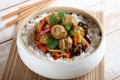 Kulki mięsne po chińsku