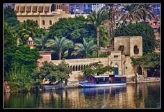View across the Nile - , Cairo