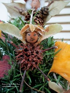 DIY ~ Natural Fairy Ornaments http://ourfairfieldhomeandgarden.com/diy-a-fairy-merry-christmas/