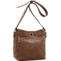 Concealed Carry Purse - The Ali Crossbody by Emperia Outfitters (Brown)  #EmperiaOutfitters #Hobo