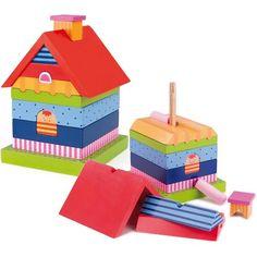 Skladací dom - určený pre deti od 2 rokov.