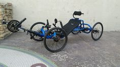 Custom UTCustom Catrike Recumbent Quad by Utah Trikes - check out all our special projects and custom builds Velo Tricycle, Electric Trike, Clown Shoes, Custom Trikes, Mark Green, Recumbent Bicycle, Racing Seats, Quad Bike, Kart