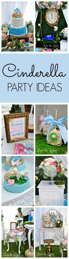 Cinderella Birthday Party Ideas | Pretty My Party