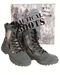 Tactical Boots Two Zipper at-digital - http://on-line-kaufen.de/mil-tec/tactical-boots-two-zipper-at-digital