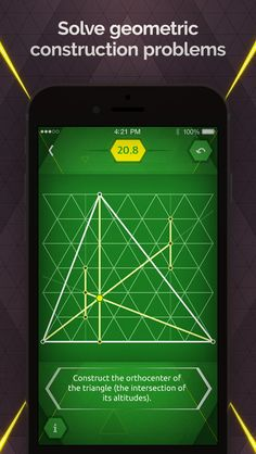 SAVE $0.99: Pythagorea 60: Geometric Constructions on Triangular Grid gone Free in the Apple App Store. #iOS #iPhone #iPad  #Mac #Apple