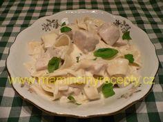 Smetanové pappardelle Potato Salad, Salads, Soup, Potatoes, Meat, Chicken, Ethnic Recipes, Potato, Soups