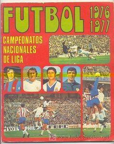 Futbol 76/77. Spanish sticker album.