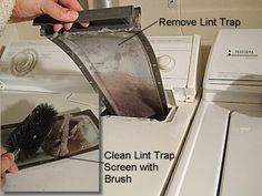 how to clean a dryer vent