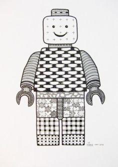 Zen Tangle 19 made by Miekrea NL - Legoman - Mrt. 2013