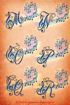 Music Tattoo Designs, Music Tattoos, Word Tattoos, Music Drawings, Abstract Drawings, Pencil Art Drawings, Music Notes Background, Him And Her Tattoos, Beautiful Flower Tattoos