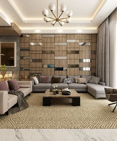 Modern room partitions have many uses. They can divide a large room into smaller areas, separate a room, enhance your … Zeitgenössisches Apartment, Apartment Interior, Apartment Design, Lounge Design, Sofa Design, Living Room Designs, Living Room Decor, Best Bathroom Colors, Drawing Room Design
