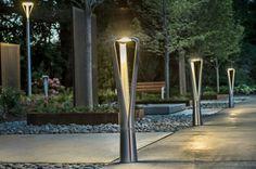 Urban bollard light / contemporary / metal / LED - FGP by Francisco Gomez Paz - landscapeforms Urban Furniture, Street Furniture, Furniture Cleaning, Furniture Online, Bollard Lighting, Outdoor Lighting, Lighting Ideas, Nature Design, Lanscape Design