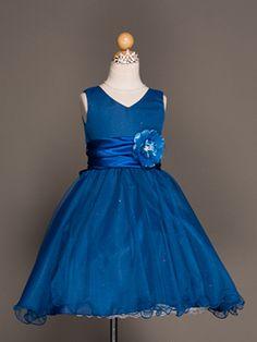 Sparkling Princess Flower Girl Dress