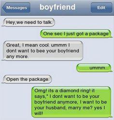 Epic text - Awesome Boyfriend - http://jokideo.com/epic-text-awesome-boyfriend/